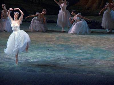 Ballerinas At The Vaganova Academy Print by Richard Nowitz