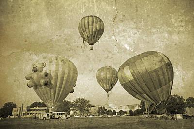 Vmi Photograph - Balloon Rally by Betsy C Knapp
