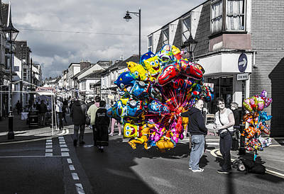 Tin Photograph - Balloons by Paul Howarth
