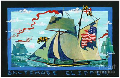 Baltimore Clipper Original by Jimmy Reynolds