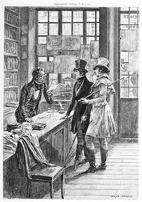 Balzac: Illustration Print by Granger