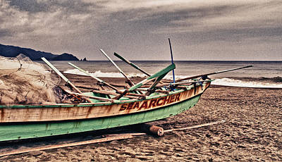 Banca Boat 2 Print by Skip Nall