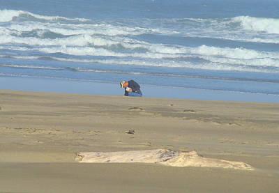 Agate Beach Oregon Photograph - Bandon Oregon Beach Comber Prints Ocean Coastal by Baslee Troutman