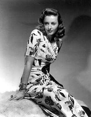 Hurrell Photograph - Barbara Stanwyck By Hurrell, 1940 by Everett