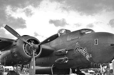 2011 Vna Stuart Airshow Wibada Photograph - Barbie I I I In Black And White by Lynda Dawson-Youngclaus