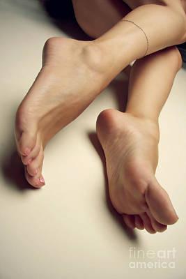 Sexy Soles Photograph - Bare On The Wall by Tos Photos
