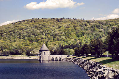 Stone Buildings Photograph - Barkhamsted Reservoir by HD Connelly
