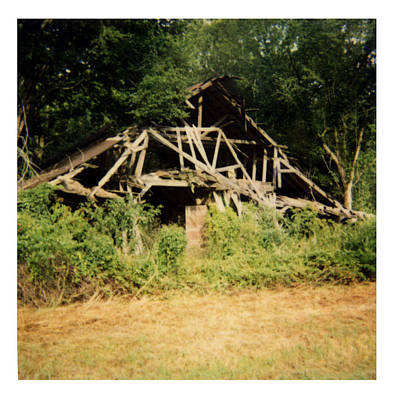 Tarkovsky Photograph - Barn - La Hwy 4 by Doug  Duffey