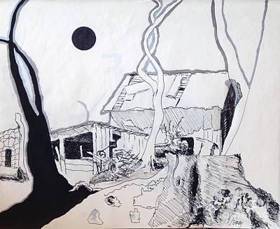 Barn 4 Print by Rod Ismay