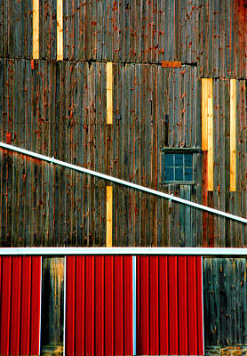 Finger Lakes Photograph - Barn Graphics by Steven Ainsworth