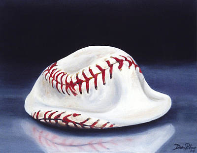 Baseball '04 Print by Redlime Art