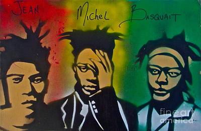 Basquait Me Myself And I Print by Tony B Conscious