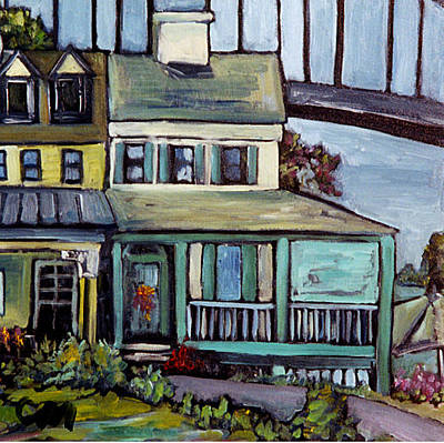 Painting - Bayard House In Chesapeake City by Carol Mangano