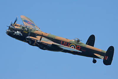 Bbmf Lancaster Bomber 2 Print by Ken Brannen