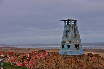 Rock Photograph - Beach Tower by Ivan Slosar