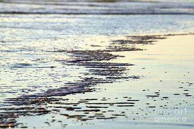 Beach Water Print by Henrik Lehnerer