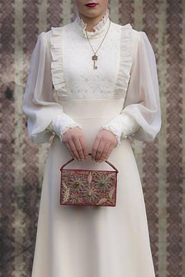 Beaded Handbag Print by Joana Kruse