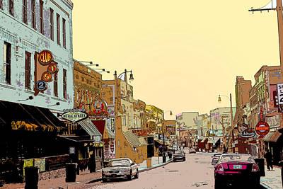 Beale Street Print by Barry Jones