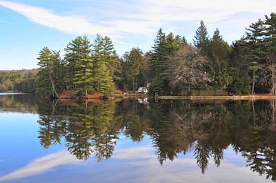 Bear Creek Lake Print by Bill Cannon