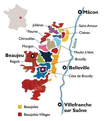 Beaujolais Print by None