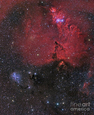 Monoceros Photograph - Beautiful Nebula In Monoceros by John Davis