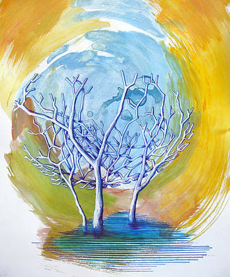 Giving Painting - Beautiful On Purpose by Rene Capone