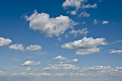 Bluesky Photograph - Beautiful Skies by Bill Cannon