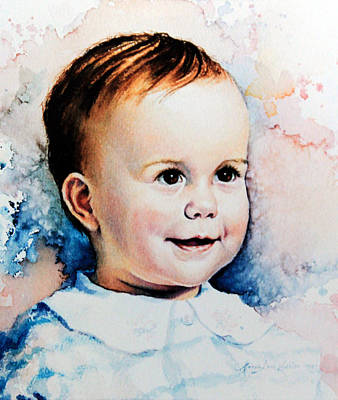 Of Toddlers Painting - Becky by Hanne Lore Koehler