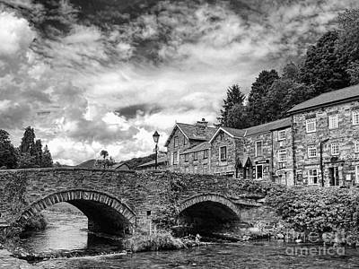 Gicl Photograph - Beddgelert Village 2 by Graham Taylor