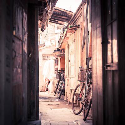 Y120907 Photograph - Beijing Hu Tong Alleys by Capturing a second in life, Copyright Leonardo Correa Luna
