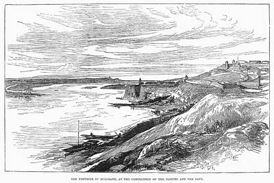 Belgrade: Fortress, 1876 Print by Granger