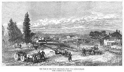 Belgrade: Market, 1876 Print by Granger