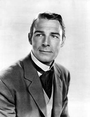 Belle Of The Yukon, Randolph Scott, 1944 Print by Everett