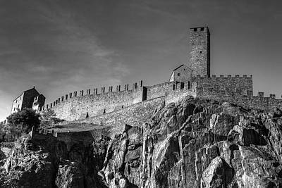 Castle Photograph - Bellinzona Switzerland Castelgrande by Joana Kruse