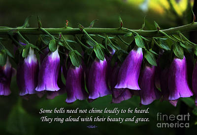 Bells Of Spring Print by Olahs Photography