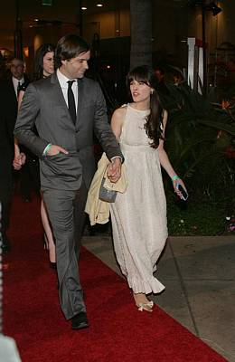 Zooey Deschanel Photograph - Ben Gibbard, Zooey Deschanel by Everett