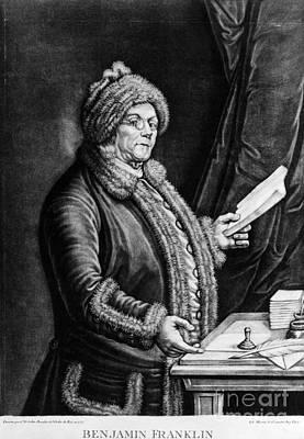Benjamin Franklin, American Polymath Print by Omikron