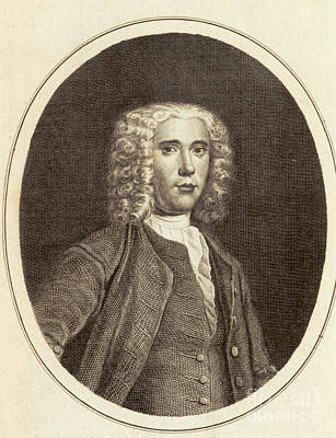 Benjamin Martin, English Inventor Print by Science Source