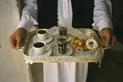 Berber Hospitality In The Form Of Tea Print by Bobby Model