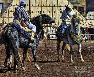 Berbers Morocco Print by Chuck Kuhn