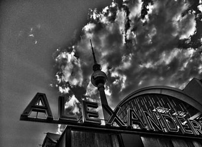 Fenster Photograph - Berlin Alexanderplatz by Juergen Weiss
