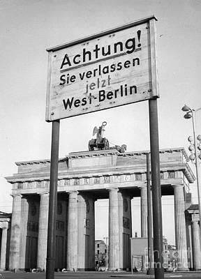 Berlin Print by Photo Researchers, Inc.