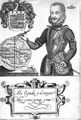Bernard De Vargas Machuca Spanish Explore Print by Middle Temple Library