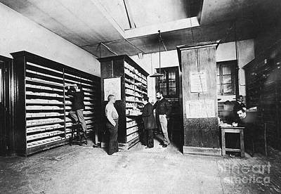Police Officer Photograph - Bertillons Filing System, 19th Century by Science Source