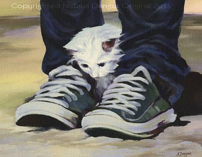 Animal Shelter Painting - Best Friends by Natasha Denger