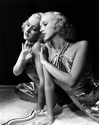 Gold Lame Photograph - Betty Grable, 1930s by Everett