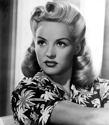 Betty Grable, 20th Century-fox, 1940s Print by Everett