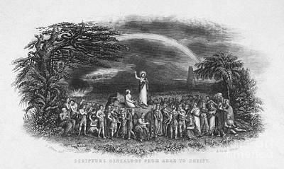 Sermon Photograph - Bible: Jesus, 1833 by Granger