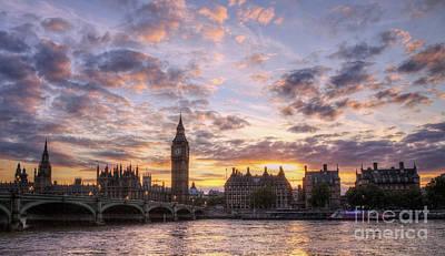 Big Ben London Print by Lee-Anne Rafferty-Evans