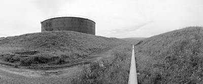 Big Oil Ww2 Original by Jan Faul